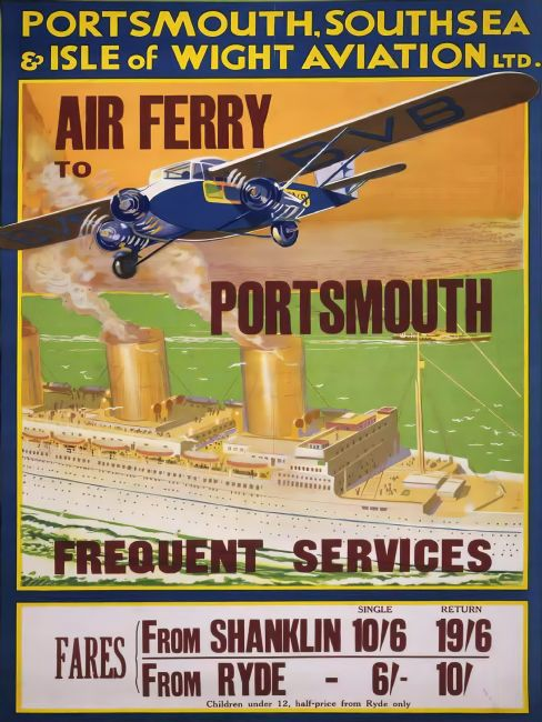 Chris Langley | Air Ferry to Portsmouth