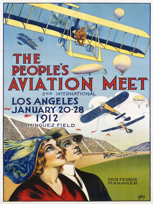 Chris Langley | Aviation Meet, Los Angeles 1912