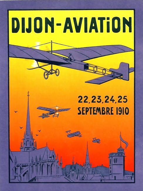 Chris Langley | Dijon Aviation Fair, France 1910