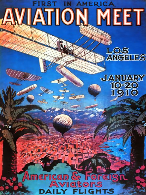 Chris Langley | Los Angeles Aviation Meet 1910