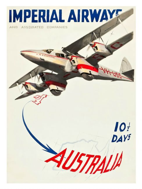 Chris Langley | Imperial Airways to Australia