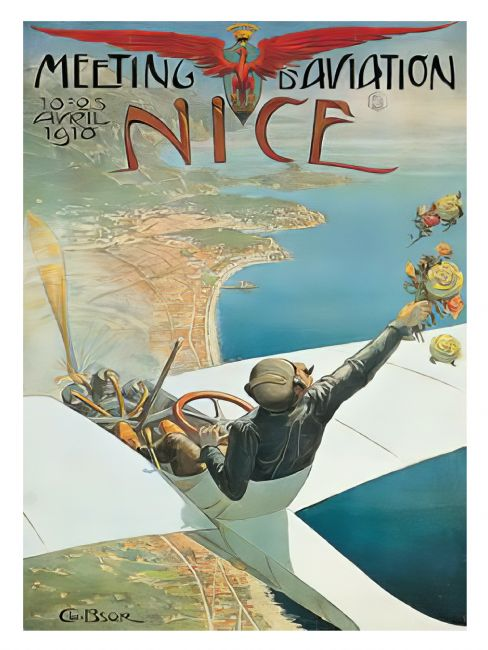 Chris Langley | Aviation Meeting, Nice, France 1910