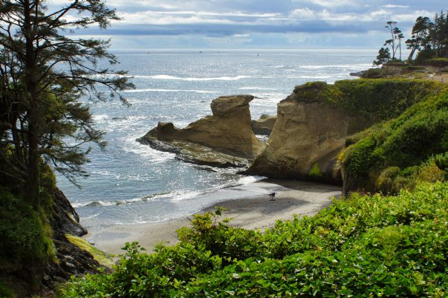 Chris Langley | Sandstone Coves at Depoe Bay, Oregon