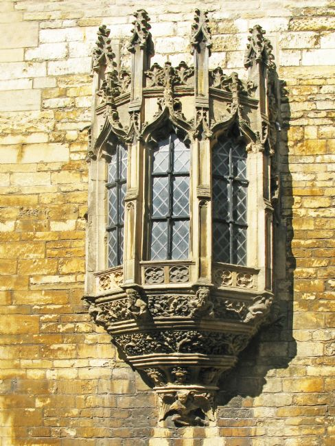 Chris Langley | Lincoln Castle - Medieval Gatehouse Window