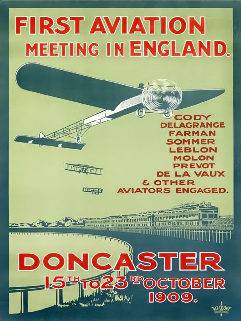 Chris Langley | First aviation meet in England 1909