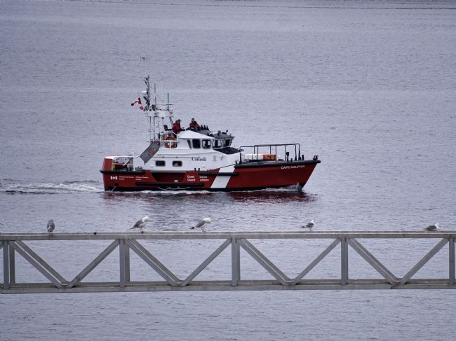 Chris Langley | Canadian Coast Guard passing review