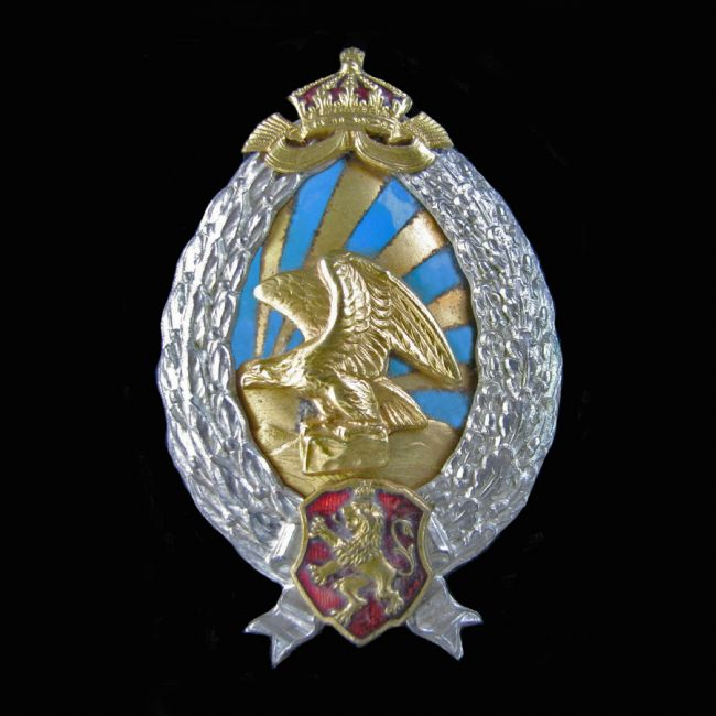 Chris Langley | Bulgarian Air Force Observer badge, 1936-44, German made