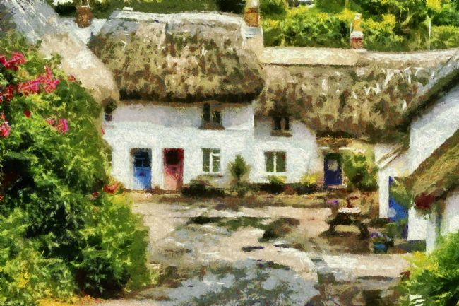 Jay Lethbridge | Hope Cove Cottages - Painted Effect