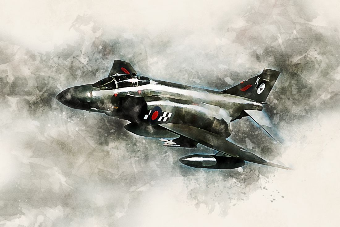 James Biggadike | F-4 Phantom - Painting