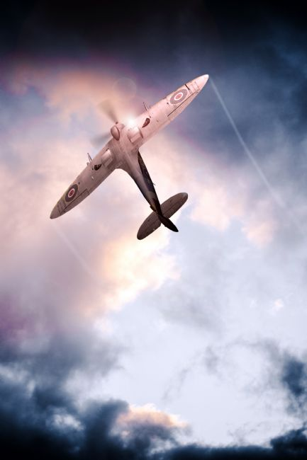 Airpower Art | Spitfire, One of The Few