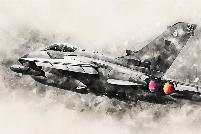 James Biggadike | Tornado GR4 - Painting