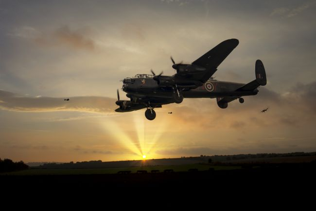James Biggadike | 106 Come Home - Lancaster Bomber