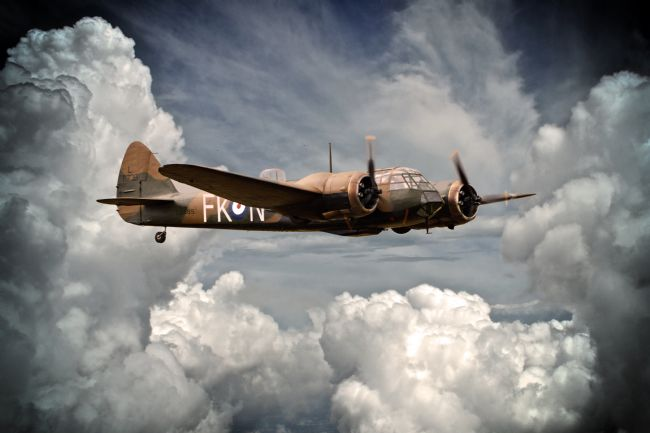 James Biggadike | 219 Squadron Bristol Blenheim