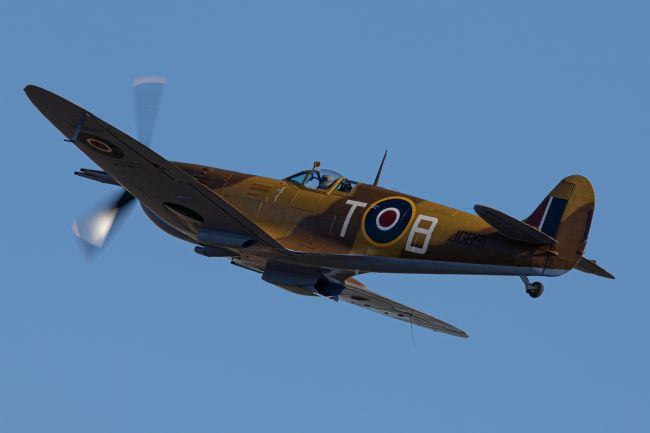 Airpower Art | Supermarine Spitfire MkVc JG891