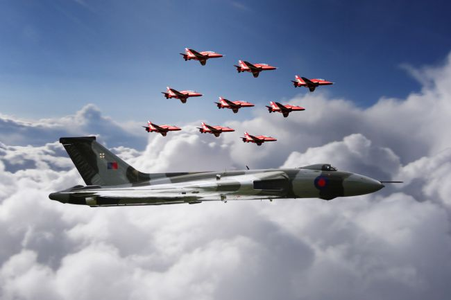 James Biggadike | In Formation With XH558