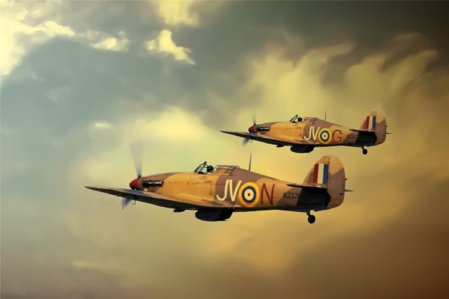 James Biggadike | 6 Squadron Hurricanes