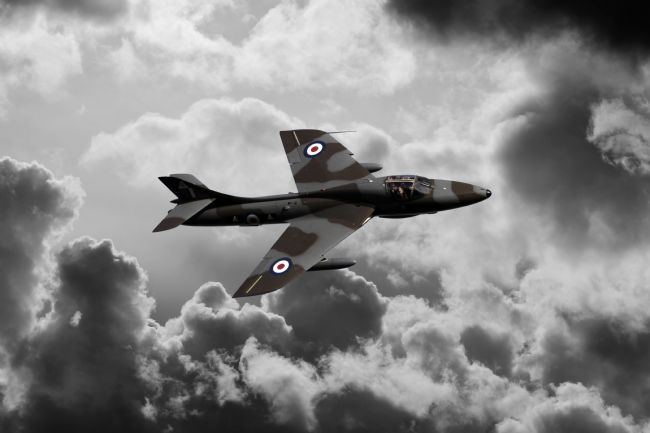 James Biggadike | Hawker Hunter