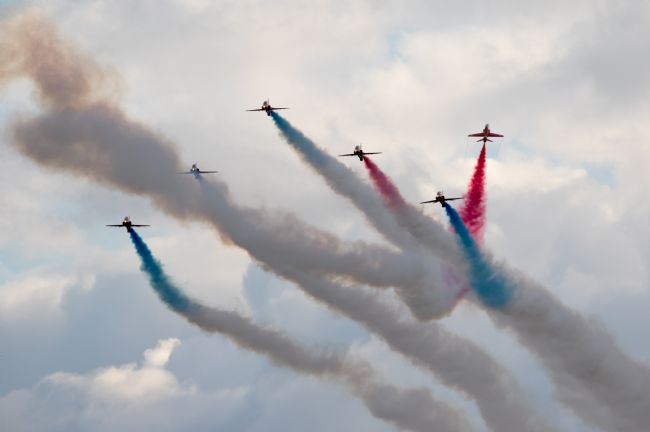 Airpower Art | Red Arrows Goose