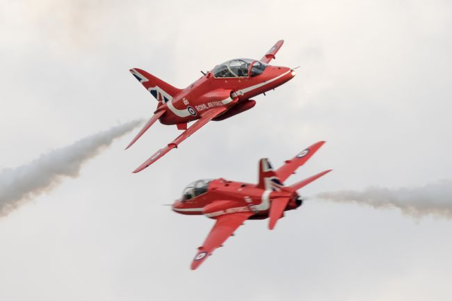 James Biggadike | Red Arrows Synchro Pair