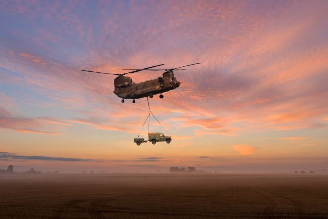 James Biggadike | Chinook Heavy Lifter