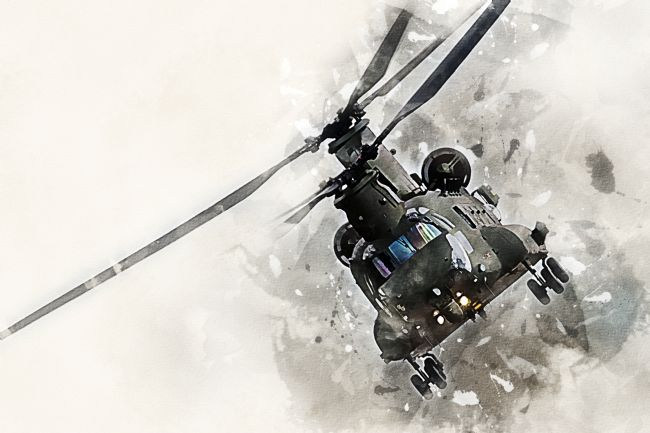 James Biggadike | Chinook - Painting