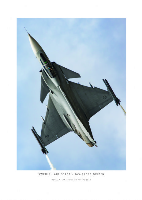 Airpower Art | Swedish Air Force JAS-39C/D Gripen