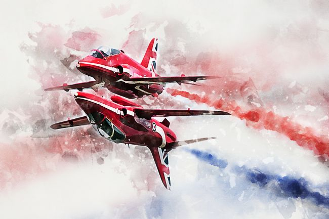 James Biggadike | Red Arrows - Painting