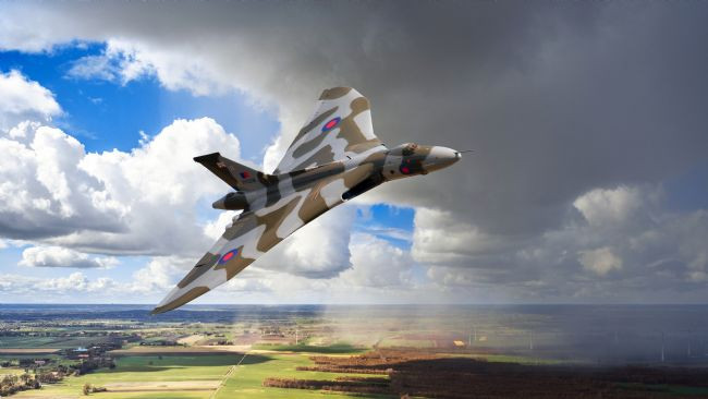James Biggadike | Vulcan XH558