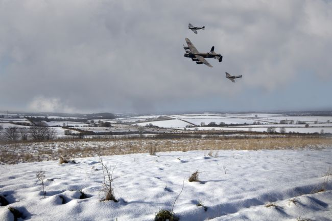 James Biggadike | Battle of Britain Snow Scene