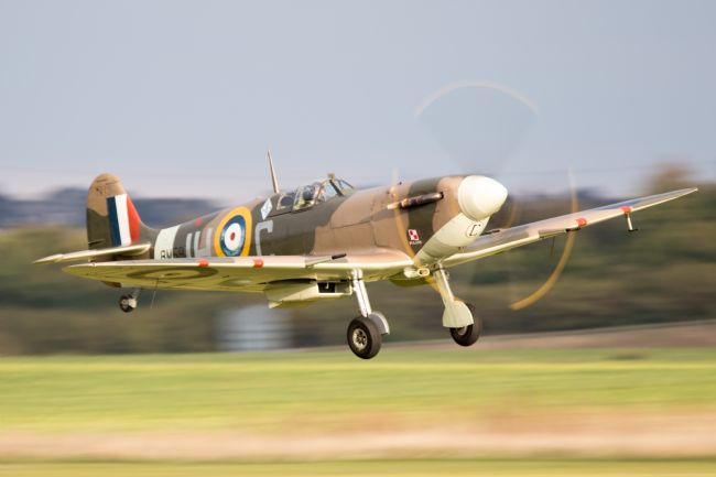 Airpower Art | Spitfire BM597 Takes Off