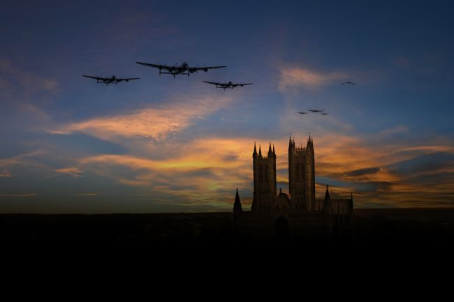 James Biggadike | Bombers Over Lincoln