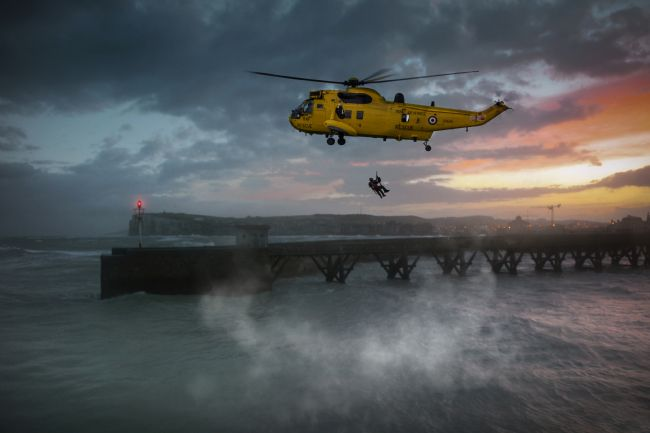 James Biggadike | Sea King Rescue