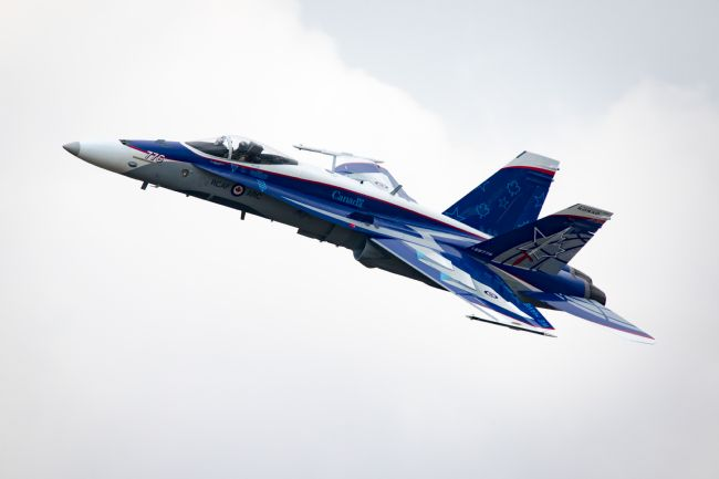 James Biggadike | RCAF CF-18 Hornet