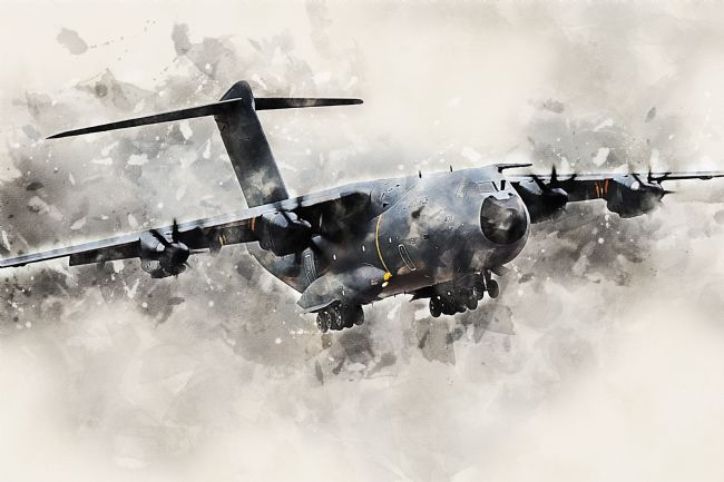 James Biggadike | A400M Atlas - Painting