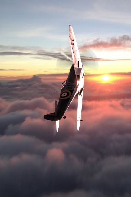 Airpower Art | Spitfire, Mitchells Vision