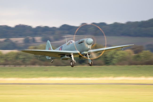 James Biggadike | Spitfire PL965 Takes Off