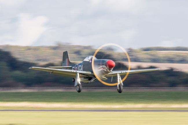James Biggadike | P-51D Mustang Take Off