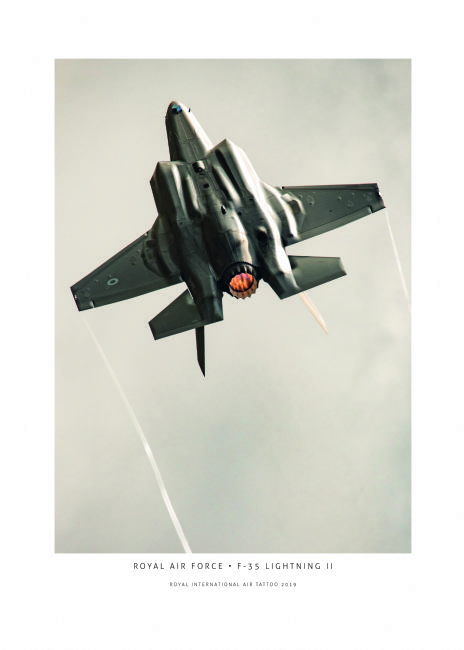 Airpower Art | RAF F-35B Lightning