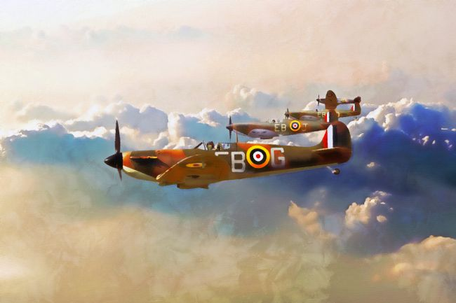 James Biggadike | 41 Squadron Spitfires