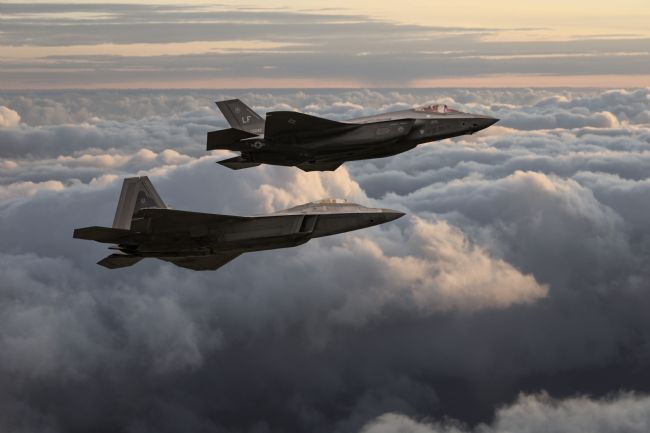 James Biggadike | F-22 & F-35