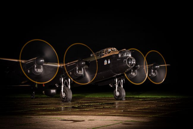Airpower Art | Just Jane - Night Shoot