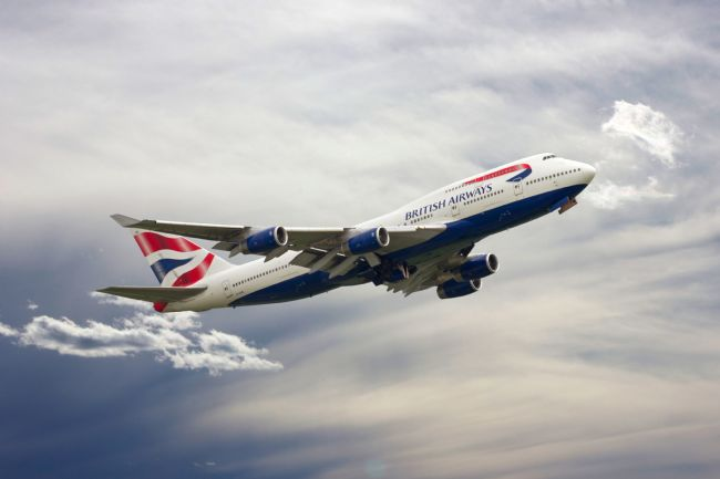 James Biggadike | British Airways Boeing 747-436