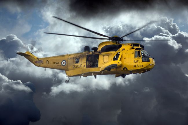 James Biggadike | Sea King Saviour