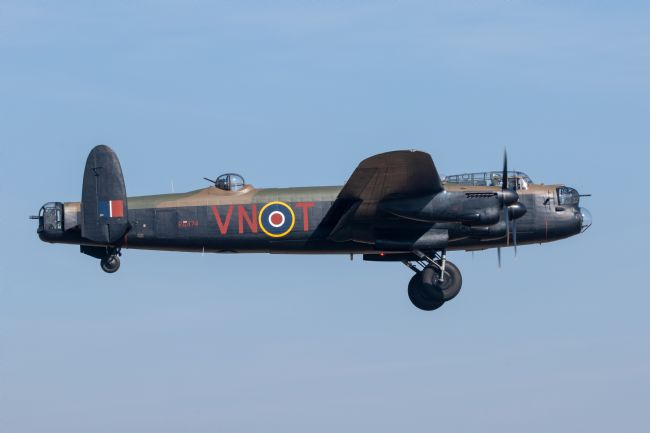 James Biggadike | Lancaster Bomber PA474