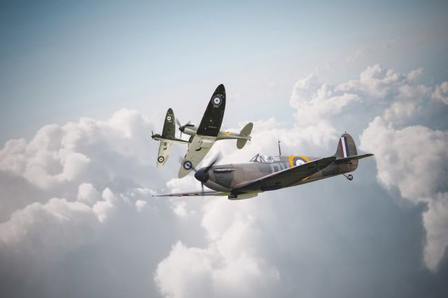 Airpower Art | Spitfires Break