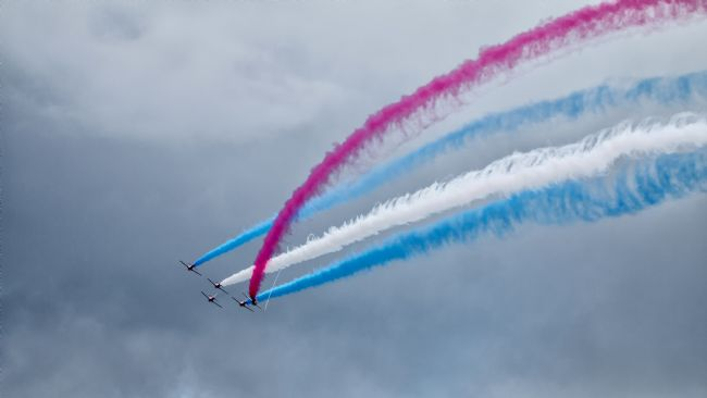 Airpower Art | Red Arrows - Enid