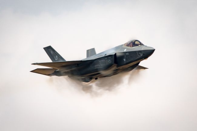 James Biggadike | USAF F-35 Lightning II