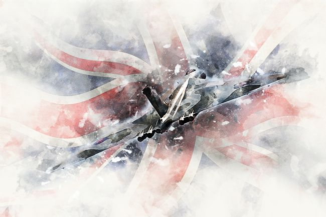 James Biggadike | Vulcan Bomber - Painting