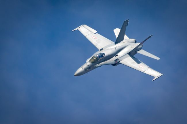 James Biggadike | Swiss FA-18 Hornet
