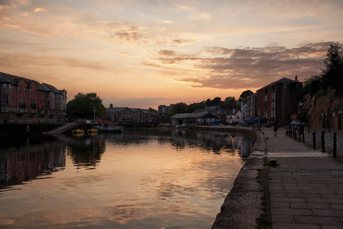 Lynn Bolt | Sunset Exeter Quayside